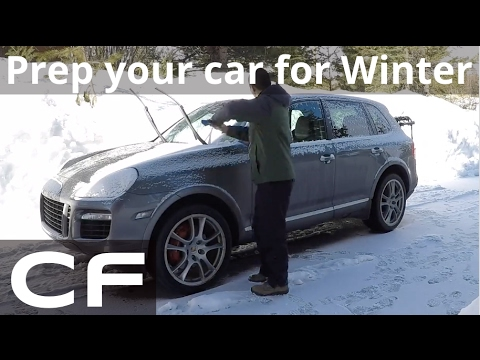 ✪ How to prepare your car for the Winter (Porsche Cayenne) ✪