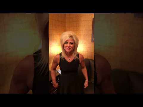 Theresa Caputo - Atria books sweepstakes to win VIP experience to my live show in Tampa Fl