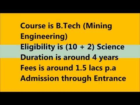 Mining Engineering as a course choice after 12th