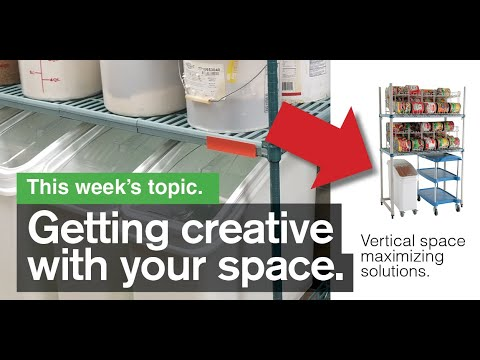 MSS Webinar  - Creating Vertical Storage Above Existing Kitchen Equipment With Docking Stations