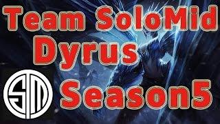 TSM Dyrus Shyvana TOP vs Renekton Patch 5.7