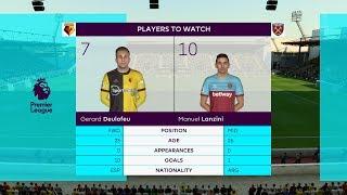 FIFA 20   Premier League 19 20 Watford vs Wset Ham   Gameplay PC