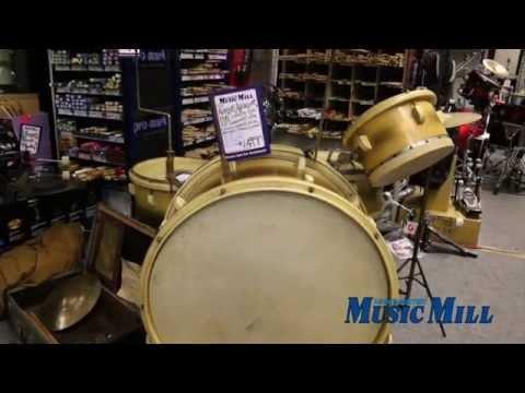 Manchester Music Mill - 1941 Leedy Drum Kit