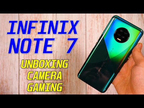Infinix Note 7 Unboxing, Quick Review: Camera Samples | Gaming Test | Best Phone Under 12K? [Hindi]