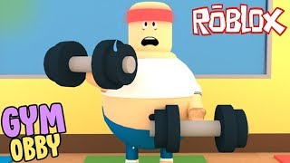 Oh ja!!! I ESCAPE THE GYM IN ROBLOX