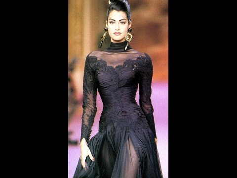 47. Yasmeen Ghauri - Born March 23, 1971.  An intriguing Pakistani Canadian model