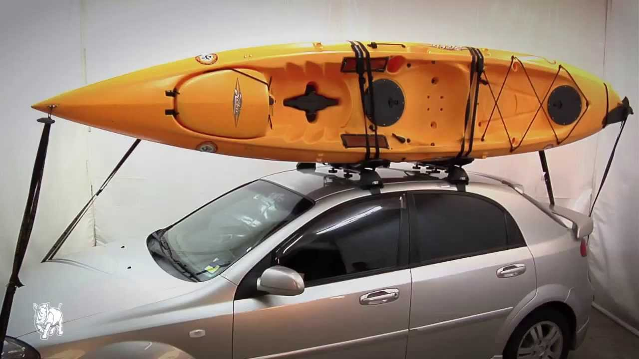 rhino rack how to fit j style kayak carriers