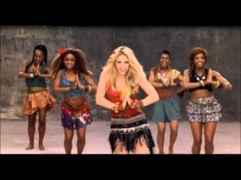 Shakira La La La The Official 2014 Brasil Fifa World Cup Song Youtube
