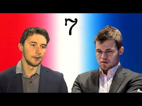 Sergey Karjakin vs Magnus Carlsen   2016 World Chess Championship   Game 7