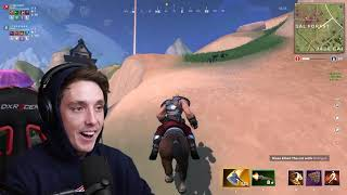 LazarBeam! Is This BETTER THAN FORTNITE Realm Royale Gameplay