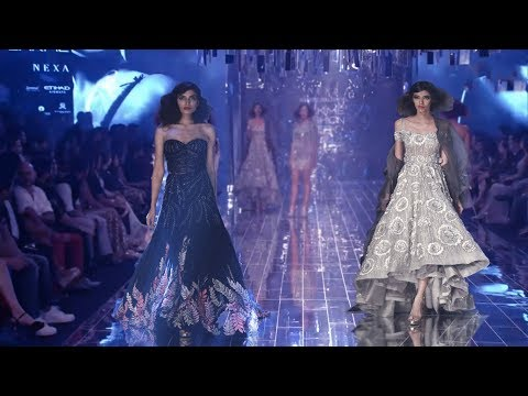 Jacqueline & Aditya Roy Kapoor Walk For Manish Malhotra | Fall/Winter 2017/18 | Lakme Fashion Week