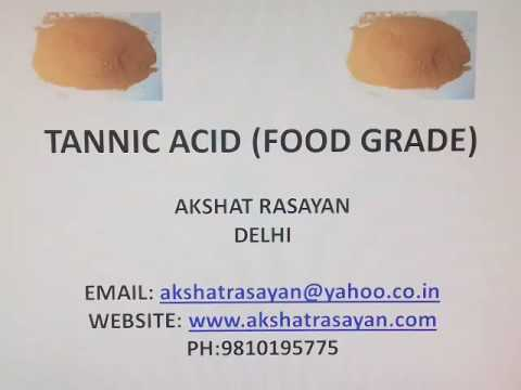 TANNIC ACID (FOOD GRADE)