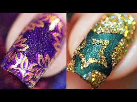 Лёгкий дизайн ногтей 2019 💅 Топ 15 Простые идеи маникюра Модные Тенденции Как сделать маникюр