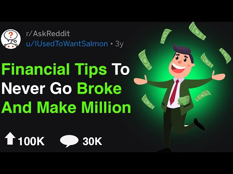 Financial Tips To