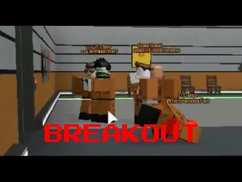 ROBLOX Area-12 Last part: Epic breakout