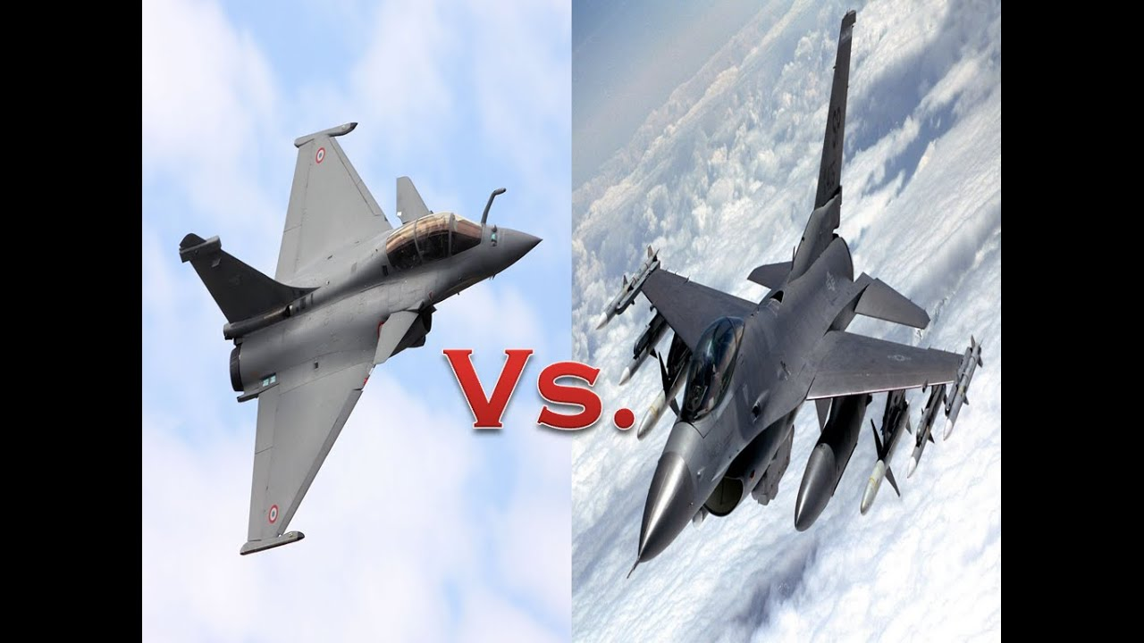 Dassault Rafale Vs F-16 Fighting Falcon || Which is Better?? You Decide!!