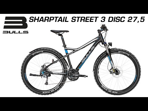 Bulls Sharptail Street 3 Disc 275 Modell 2016 Produktvideo Youtube