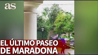 El último paseo de Maradona: habrá un niño que no lo olvidará nunca... |Diario As