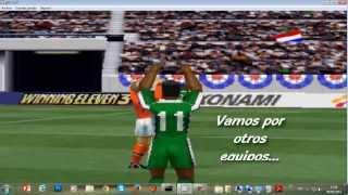 Winning Eleven 3 Final Version para PC en Español