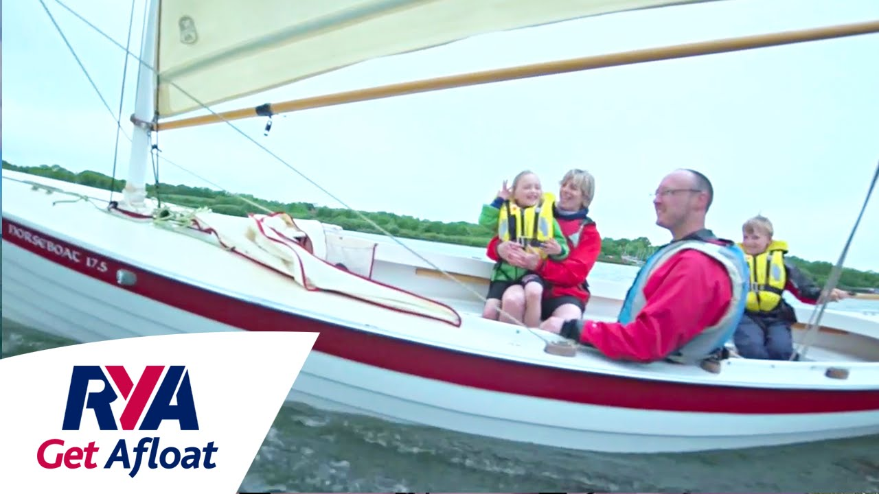 Small Boat Sailing - Get Afloat with the RYA - Dinghy Cruising with the  Shannon Family
