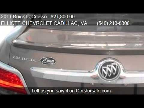Amazing 2011 Buick LaCrosse CXS 4dr Sedan For Sale In Staunton, VA 2. Elliott  Chevrolet Cadillac
