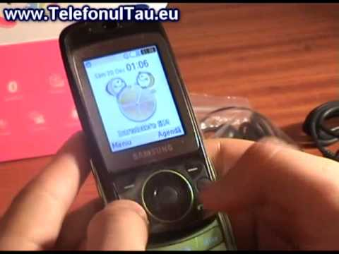 Samsung S3030 Tobi review ( romanian )