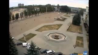 Веб-камера онлайн Центральная площадь, Хмельницкий - Camera.HomeTab.info