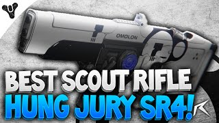 Destiny - Hung Jury SR4 Dead Orbit Scout Rifle! | INSANE PvE Gun!