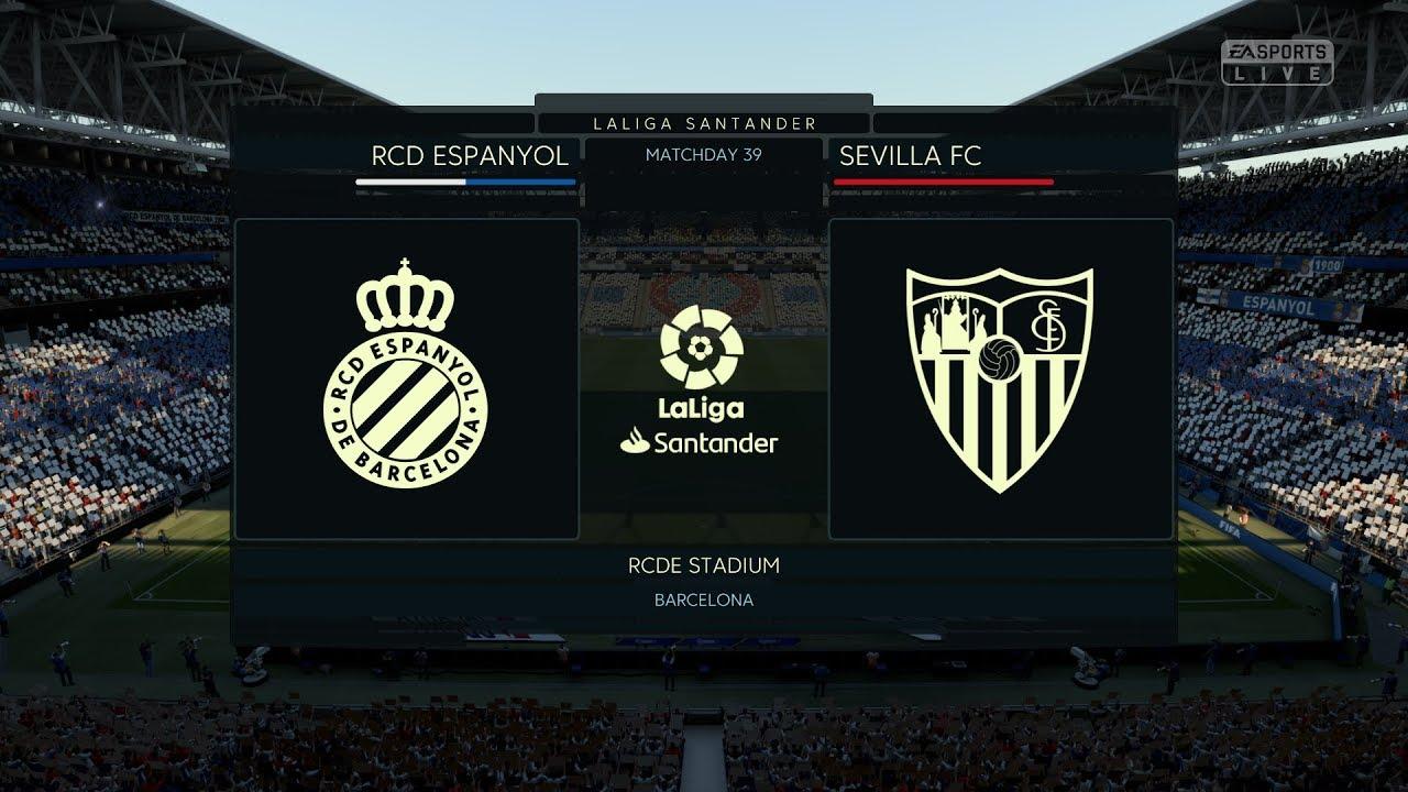Calidad superior precio más bajo con venta en línea FIFA 20 La Liga 19 20 Espanyol vs FC Sevilla FC Gameplay PC ...