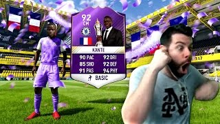 COMPLETED SBC 92 POTY KANTE and pack 2 HUGE WALK OUTS!!!! FIFA 17 Ultimate Team