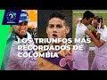 ¡De Montoya, A Cabal Y Farah! Cuando Colombia Celebró En Las Catedrales Del Deporte Mundial