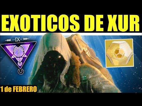 Destiny 2: Localización de Xur! Inventario de Exóticos! Ventajas & Recomendaciones! | 1 de Febrero thumbnail