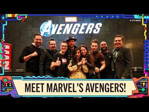 Marvel's Avengers: Hear from the Cast at NYCC 2019!
