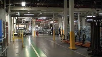 Saab Factory Tour Video (part 1)
