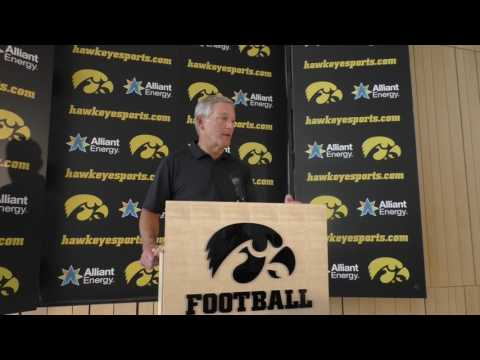 Kirk Ferentz Talks James Butler Addition