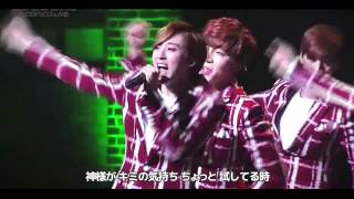 [LIVE] U-KISS「Action」歌詞付き LIVE ver.