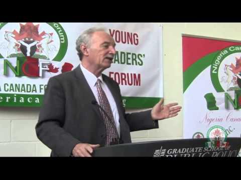 Nigeria Canada Forum (Dan Perrins Moderating the Young Leaders Forum)
