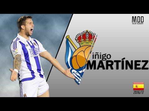 Iñigo Martínez   Real Sociedad   Goals, Skills, Assists   2016/17 - HD