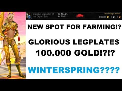 100k+ Gold Glorious, Vanguard, Saltstone item drops from Winterspring?!?!?!? WOD 6.2.3
