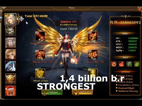 League Of Angels 2 Best Team