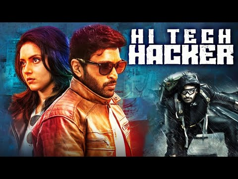 HI-TECH HACKER - Action Romantic Hindi Dubbed Full Movie | Vikram Prabhu Movie In Hindi Dubbed