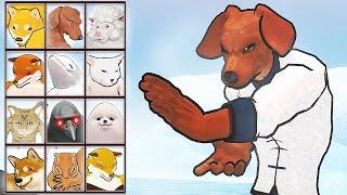 Fight of Animals: Kungfu Dachshund Oriental Hero (Dog vs Cat) | Eftsei Gaming