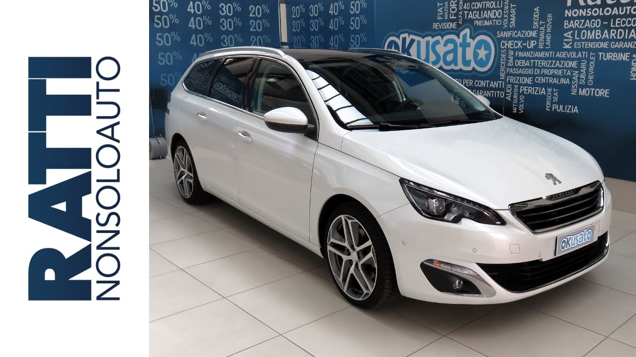 test drive peugeot new 308 sw allure 2 0 blue hdi 150cv. Black Bedroom Furniture Sets. Home Design Ideas