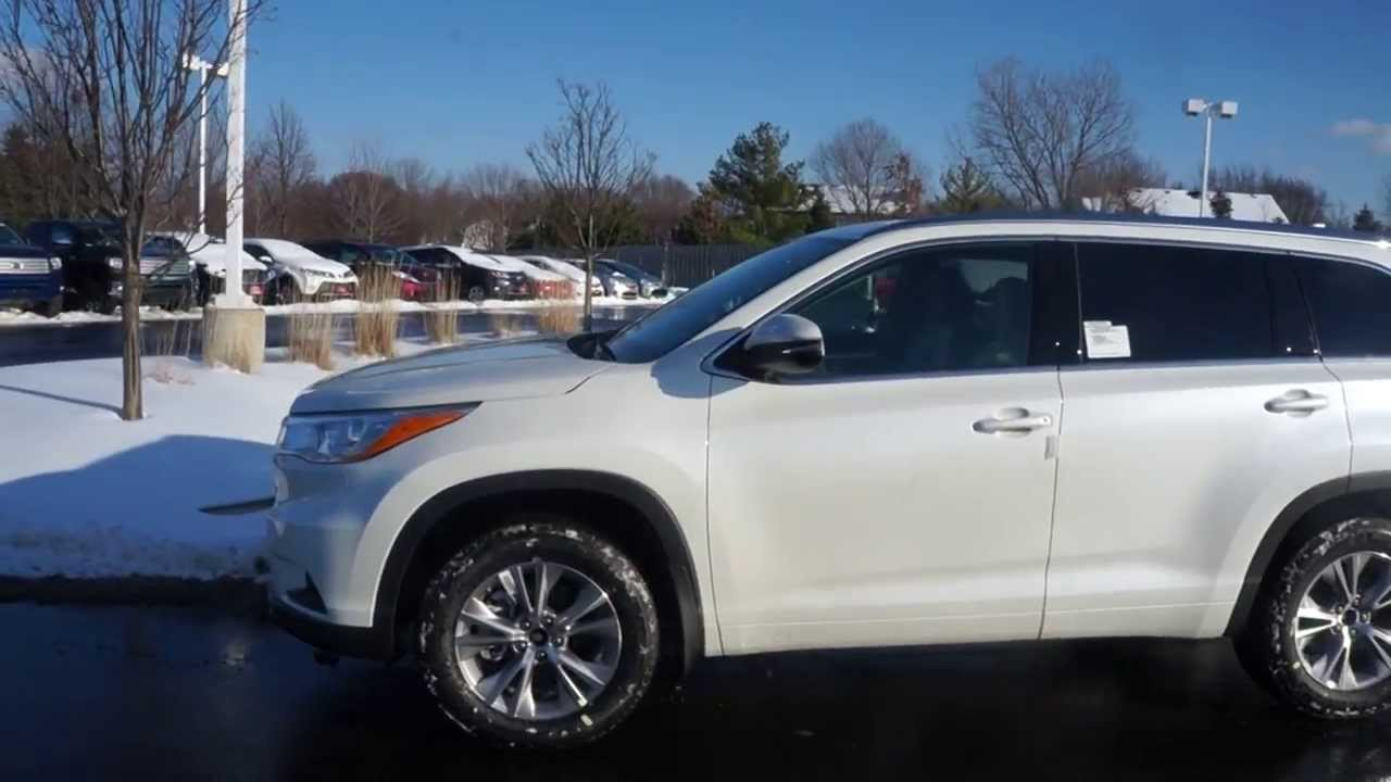 New 2014 Toyota Highlander Xle Awd Start Up And Walk