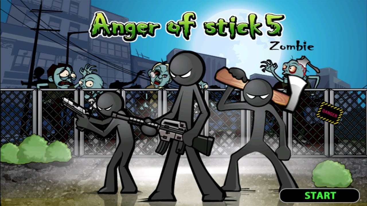 Anger of Stick 5 Android Gameplay (HD)