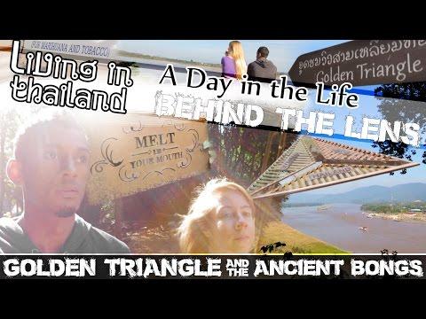 GOLDEN TRIANGLE CHIANG RAI THAILAND, Chiang Saen Opium Smoking-(ADITL BTL EP17)