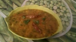 FRIED SOYA DAAL RECIPE