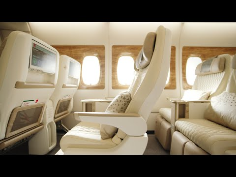 Enjoy more comfort in Premium Economy | Emirates Airbus A380