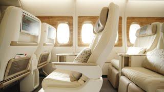 Enjoy more comfort in Premium Economy | Emirates Airbus A380