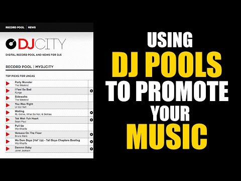 Using DJ pools to promote your music
